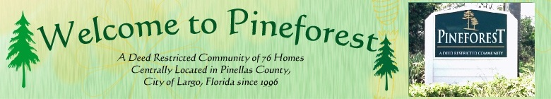 Pineforest HOA Site Page Banner